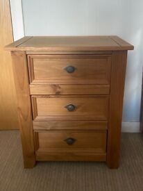 Small set solid wood drawers