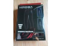 Kooga performance fit base layer bottoms, size XXL
