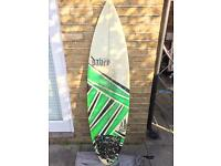 "Davey Custom 6'0"" surfboard"