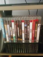 Jeux ps3 a vendre - gta5 BF4 Call of Duty...