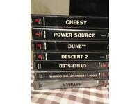 7 x PS1 GAMES PLAYSTATION