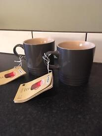 Le Creuset mugs x 2