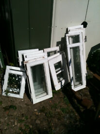 Various window inserts (wood)