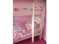 White single bunk beds for sale