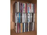Bundle of 65 CDs