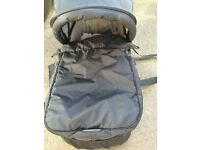 Baby Jogger Carrycot with adaptors - great condition