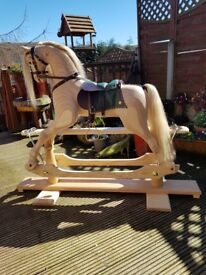 Traditional Rocking Horse (Handmade)