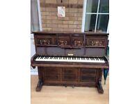 John Broadwood & Sons 1894 upright cottage piano