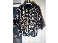 beautiful collen rooney designer coat worn once 4-6