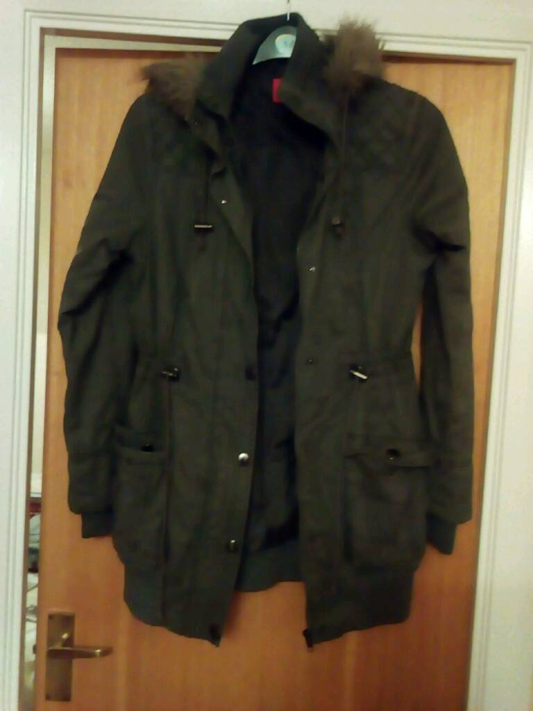 Ladies parker coat