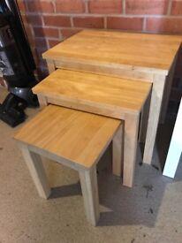 John Lewis nest of 3 tables