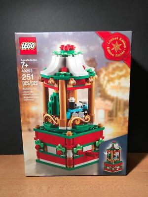 LEGO 40293 Christmas Exclusive Carousel 2018 Limited Edition Set Sealed NEW