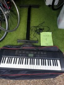ELECTRIC KEYBOARD Casio CTK 1150 61 Key includes a Folding Stand, book and strong case FULLY WORK