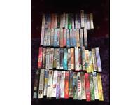 68 videos all in original boxes