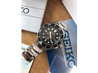 Seiko Prospex Solar 200m Solar Divers Mens Watch SNE437P1