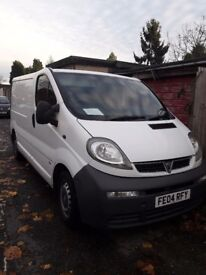 Vauxhall vivaro for sale 2004