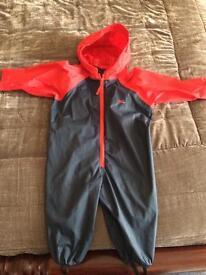 Togz waterproof suit 12-18 months