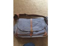 Changing bag with changing mat