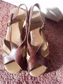 3 Pair ladies Shoes size 5 Clarks