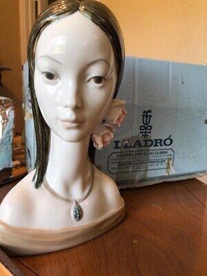 LLADRO MAJA HEAD 4668 PORCELAIN FIGURINE