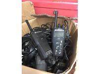 Mortorla two way radios for sale it's a box off them