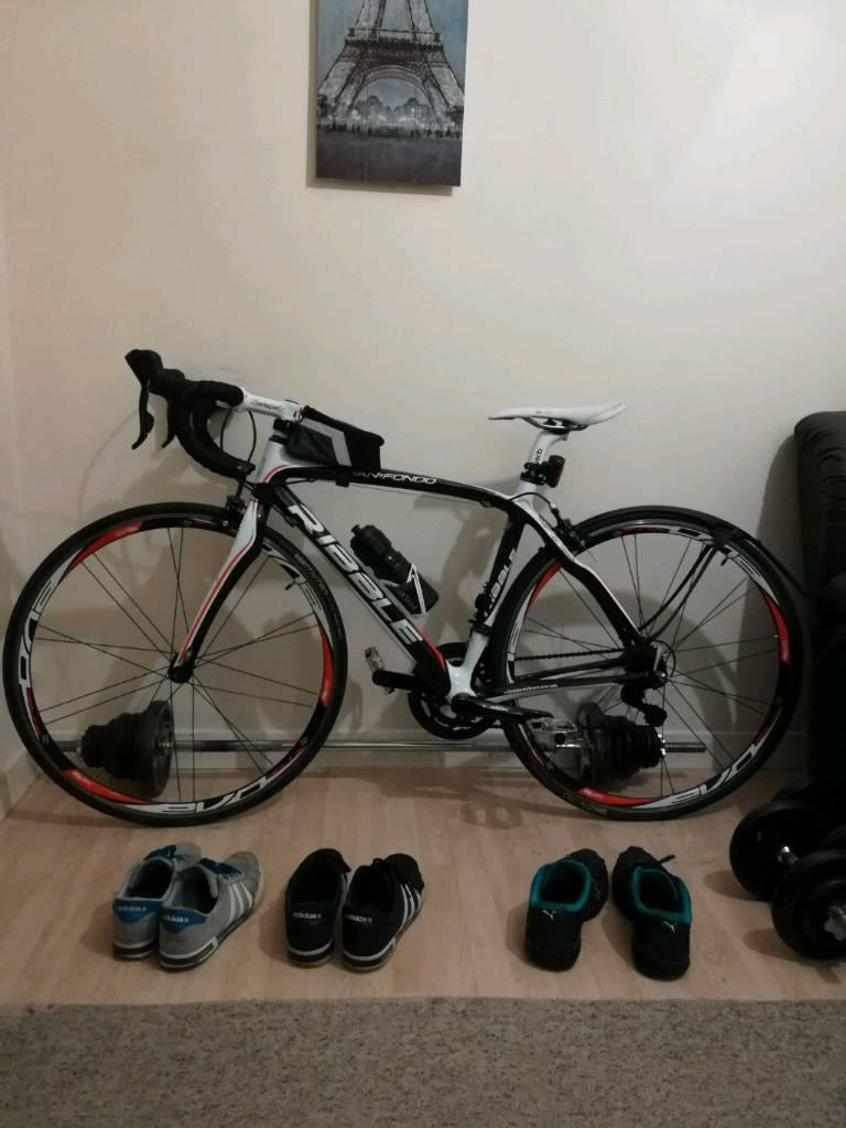Ribble Gran Fondo Full Carbon Fibre Road Bike Bicycle