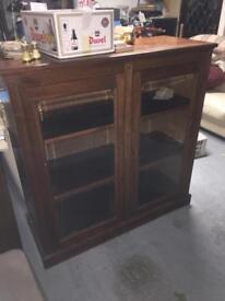 Mahogany Display Cabinet Cupboard
