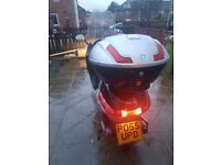 Piaggio X9 125cc High Windshield, A lot of cargo space
