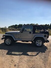 Jeep Wrangler 2001 60th Anniversary Model - Low mileage and very good original condition