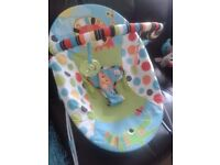 Bright Stars baby bouncer for sale. £5