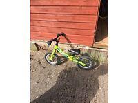 Zooom green balance bike