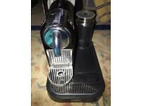 NESPRESSO COFFEE MACHINE WITH MILK CITIZ WITH MILK BLACK
