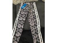Girls adidas leggings brand new