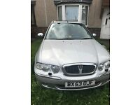 Rover 45 spares or repairs