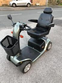 ALARM FITTED PRIDE COLT DELUXE 6/25-MPH TRANSPORTABLE HEAVY DUTY CAR BOOT MOBILITY SCOOTER