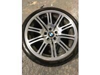 "Genuine e46 M3 19"" wheel"