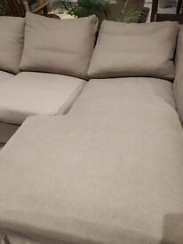 Large used sofa bed