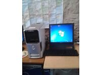 Dell Dimension E521, PC Tower, AMD Athlon 64 x 2, 5000+ @ 2.6 GHz, Windows 7 Home Premium