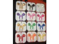 Earphones Qty 2000 for Iphones and other devices - Brand new with lots of colours