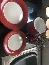 Wilko red kitchen set