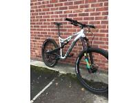 2017 Lapierre Zesty 427 AM Full Suspension. £2700 RRP. Immaculate Condition. Large Frame