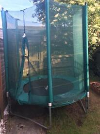 6ft Trampoline Good condition