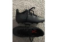 Adidas sock boot black kids 12