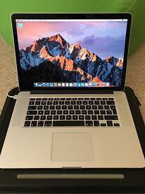 "Apple MacBook Pro 15"" Retina, Mid 2015, Top Spec, With extras"