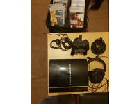 Playstation 3 for sale with 21 brand new games