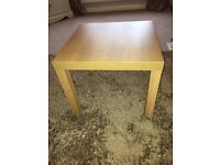 Coffee table oak colour