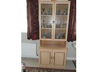 Display Cabinet South Leeds, Collection Only