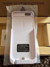 *NEW* White iPhone 6/6s Charger Case.