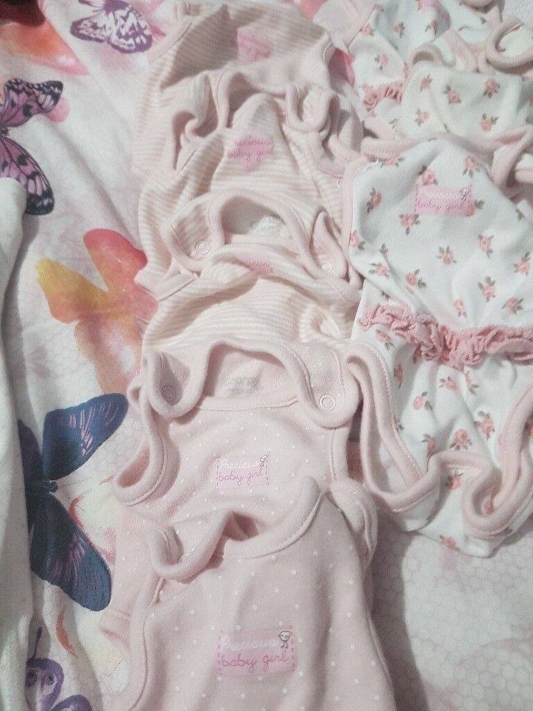 Girls premature clothes
