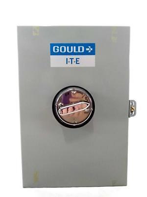 Gould Ite Ee-1a Circuit Breaker Enclosure 100a N-125 600v